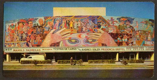 El mural del teatro insurgentes zona libre radio 1 for El mural de mosaicos