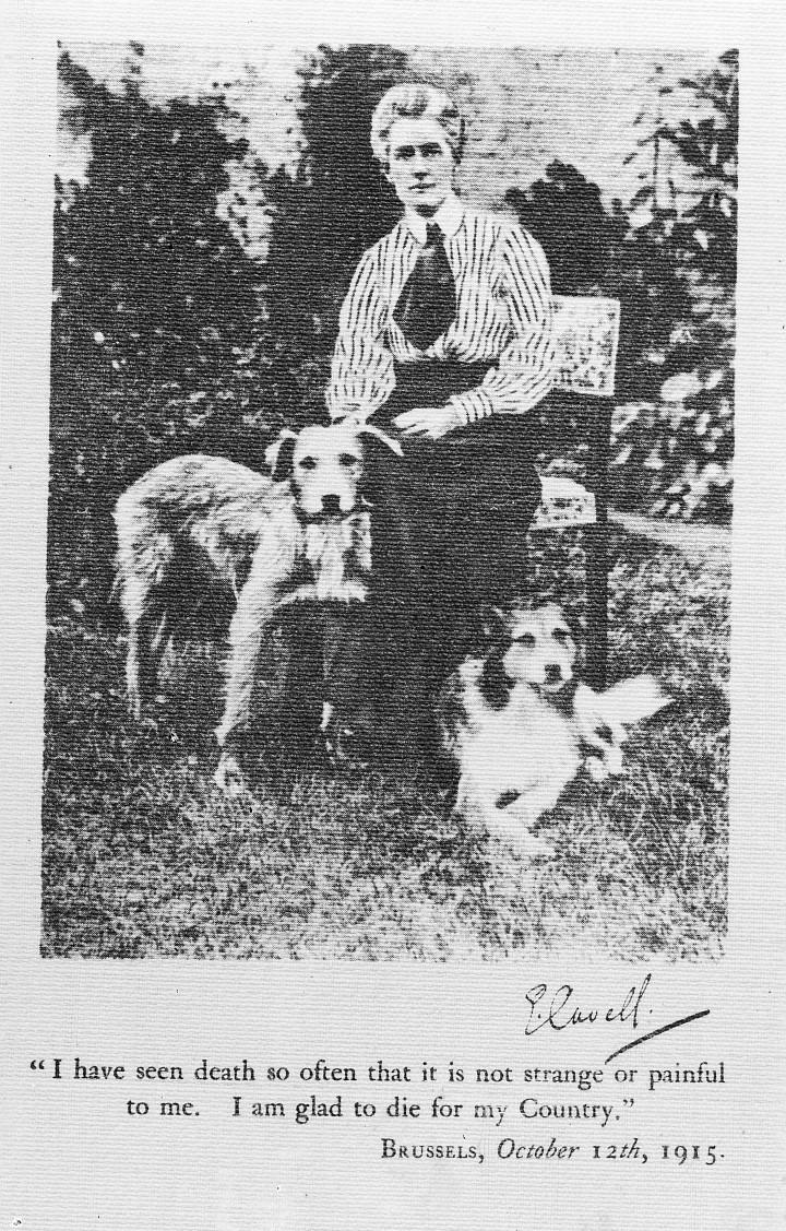 M0011539 Edith Cavell, 1865-1915