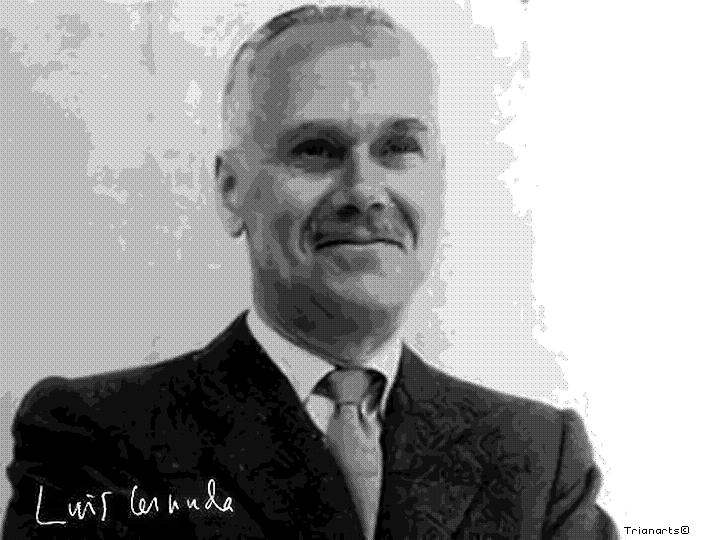 El poeta Luis Cernuda