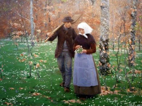 Hans Andersen Brendekilde - 11 Springtime - 1888