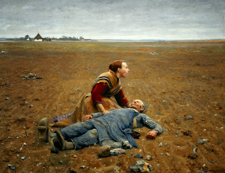 Hans Andersen Brendekilde - 2 Worn out
