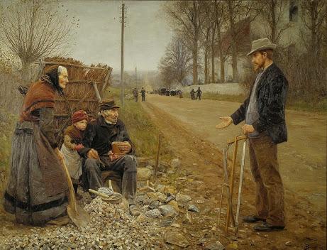 Hans Andersen Brendekilde - 22 A Country Road