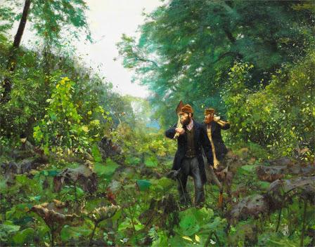 Hans Andersen Brendekilde - 3 On forbidden roads - 1886