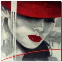 cuadro-chica-sombrero