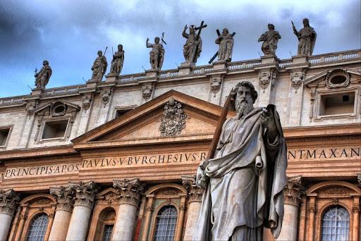 Juan Lorenzo Bernini 2 Plaza de San Pedro del Vaticano (1)