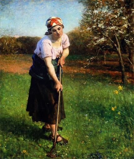 Jules Breton - 23 Springtime 1902