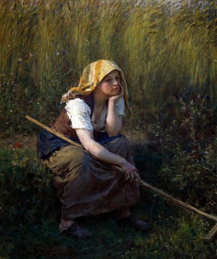 Jules Breton - 8 El verano 1891