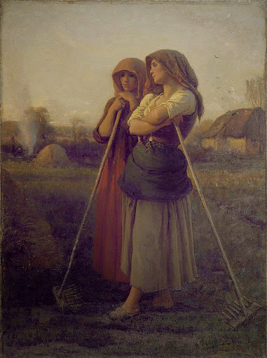 Jules Breton - 8 The Close of Day 1865