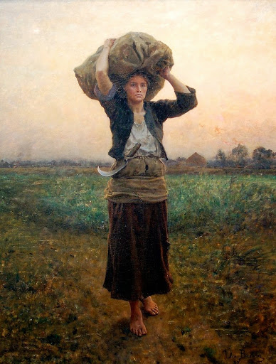 Jules Breton - 8 The Shepherd's Star 1887