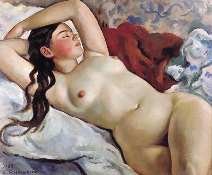 mujer-reclinada