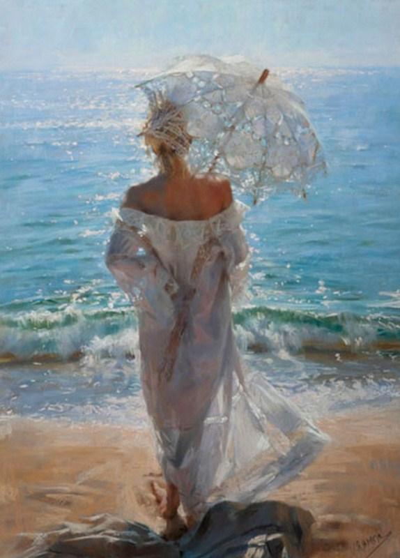 mujeres-en-el-mar-pintura-al-pastel
