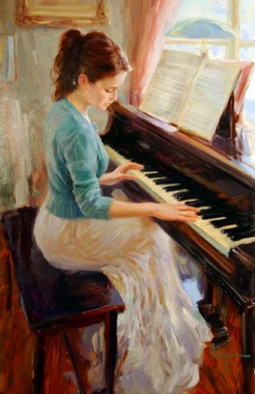 pintura-mujer-tocando-piano